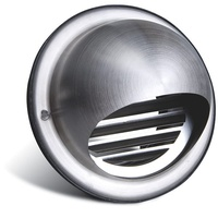 100mm Dome Grille (Stainless Steel)