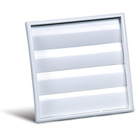 125mm Gravity Grille (White)