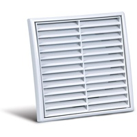 200mm Fixed Grille (White)