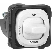 Clipsal 30 Series 3 Position UP-OFF-DOWN Switch Mechanism