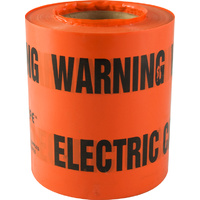 Electrical Underground Warning Tape 100mtr