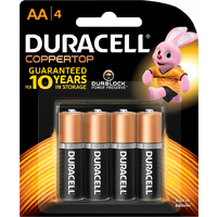 Duracell All Purpose AA Batteries (4 Pack)