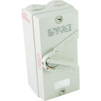 4 Pole 20A Isolator Switch