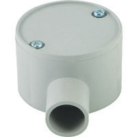 25mm 1 Way Shallow Junction Box