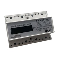 100 Amp Three Phase KWH Meter