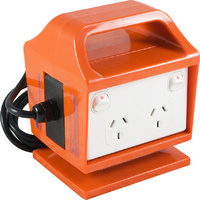 Portable Power Outlet RCBO Protected
