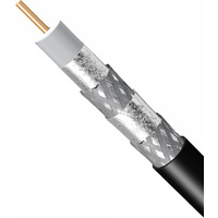 RG6 Quad Shield Coaxial Cable (per mtr)