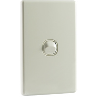 QCE Slimline 1 Gang Single Light Switch