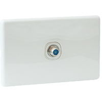 QCE Slimline TV Outlet Antenna Socket for PAY TV (F-Type)