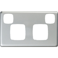HPM Excel Double Powerpoint Matt Silver Metal Cover