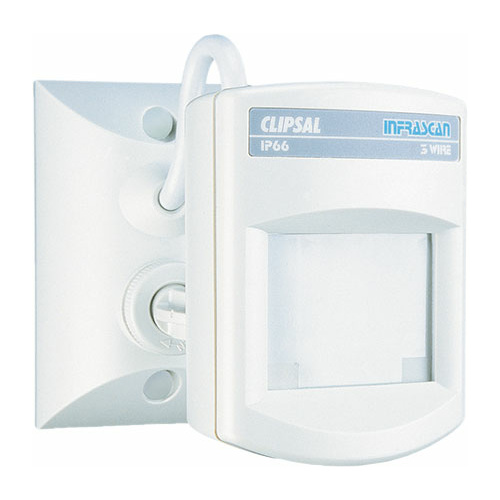 Clipsal Infrascan Outdoor Motion Sensor IP66 (10A 3 Wire)