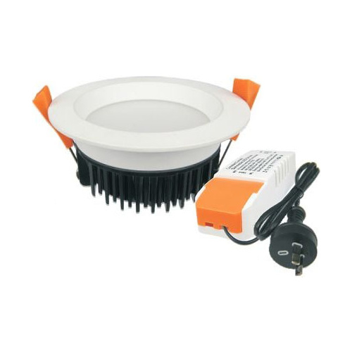 13W Dimmable LED Downlight Kit Recessed White (Tri Colour Switchable)