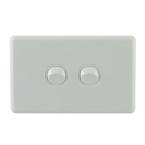 2 Gang Double Light Switch
