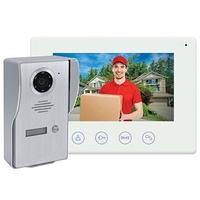 Matchmaster Smart Video Doorbell with Colour Monitor