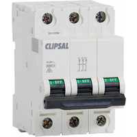 Clipsal Three Pole Circuit Breaker 6kA