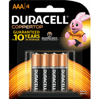 Duracell All Purpose AAA Batteries (4 Pack)