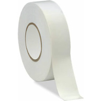 White PVC Electrical Insulation Tape