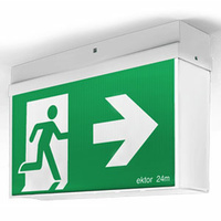 Ektor Mercury 24M Basic Emergency Exit Sign