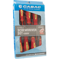 Cabac 8 Piece Screwdriver Set 1000V