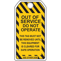 Out of Service Tag (5 Pack)