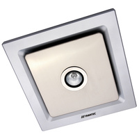Tetra Light Square Exhaust Fan Silver