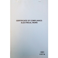 Certificate of Compliance Book
