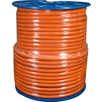 1.5mm 4 Core + Earth Orange Circular (100mtr Roll)