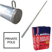 Point of Attachment Private Pole Package