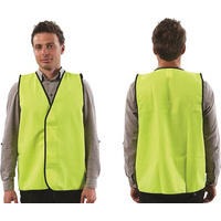 Fluoro Yellow Safety Vest (Day Use)