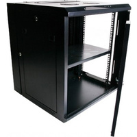 "12RU Network Rack Cabinet 19"" 600mm Deep with Fans"