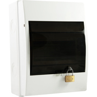 6 Pole Lockable Weatherproof Switchboard (IP54)