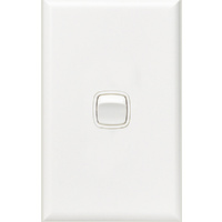 HPM Excel 1 Gang Light Switch