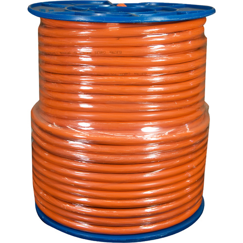 1.5mm 2 Core + Earth Orange Circular (100mtr Roll)
